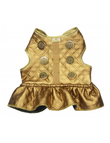 Harness-Dress Lux Gold