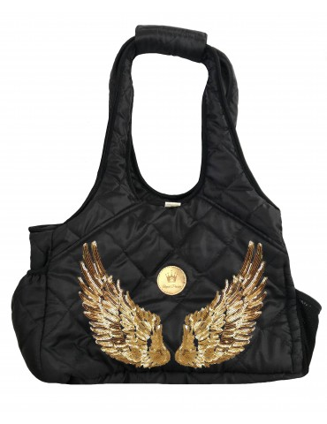 Wings Travel Bag Gold