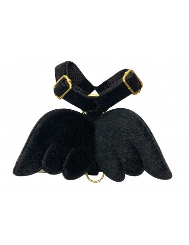 Harness Guard Wings Black