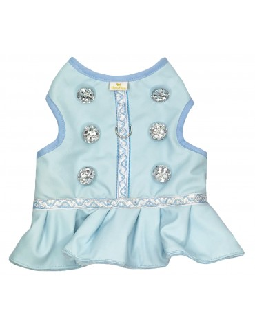 Harness-Dress Baby Blue