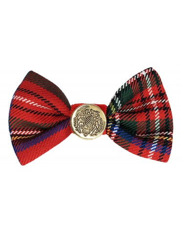 Hair Clip Christmas Plaid