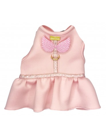 Harness-Dress Wings Pink
