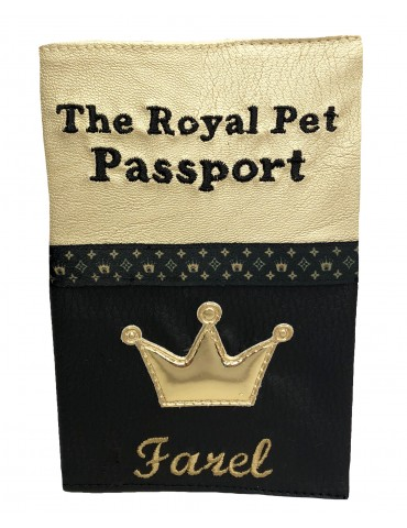 Passport Cover Royal