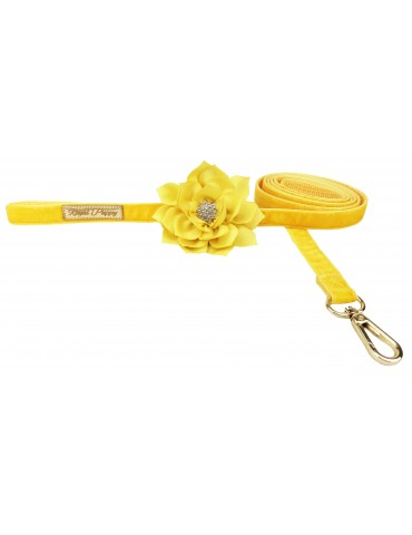 Leash Floral Yellow