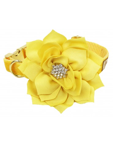 Collar Floral Yellow