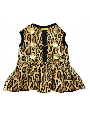 Harness-dress Leopard