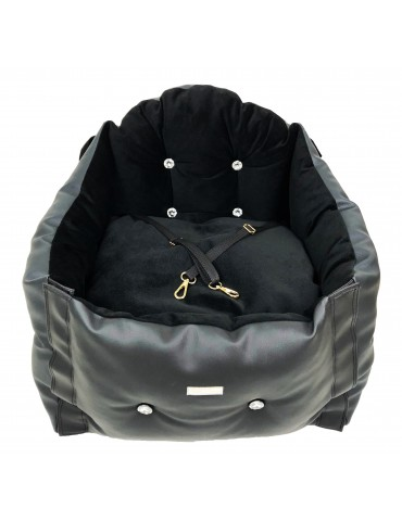Car seat Diamond black