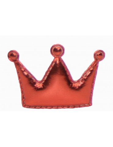 Hair Clip Crown Red